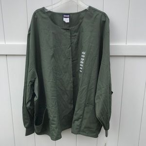 Scrubs Cherokee Workwear Jacket 5XL Olive Green